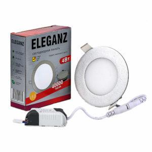 Светодиодная панель круглая 4Вт Eleganz