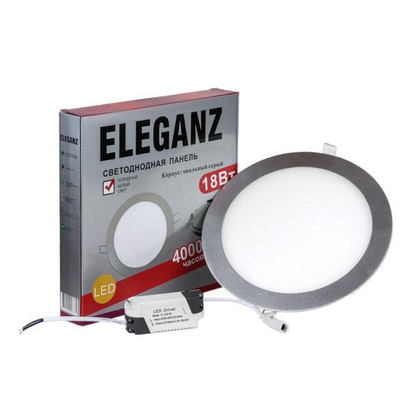 Светодиодная панель круглая 18Вт Eleganz