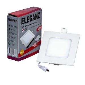 Светодиодная панель квадратная 4Вт Eleganz