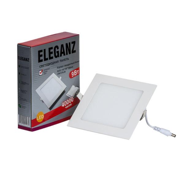 Светодиодная панель квадратная 6Вт Eleganz