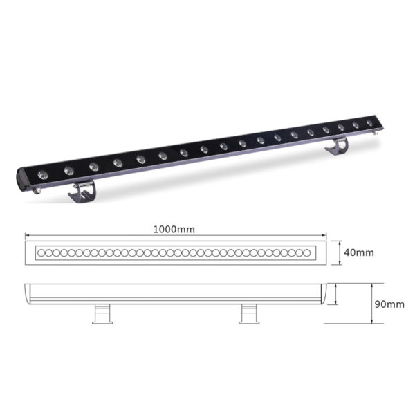 Архитектурный линейный светильник el-LS-XQ-1005