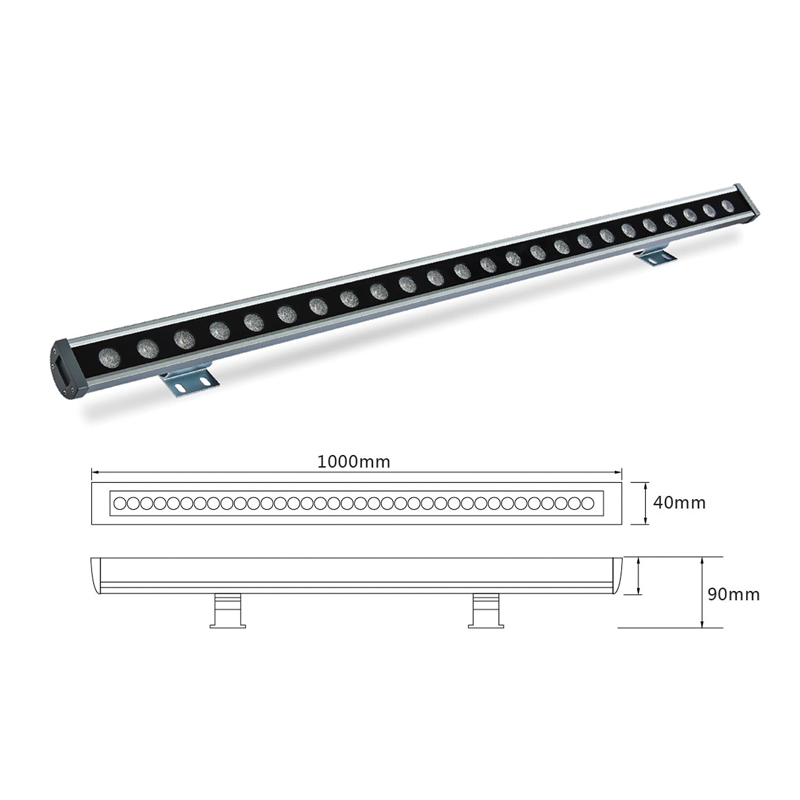 Архитектурный линейный светильник el-LS-XQ-1004