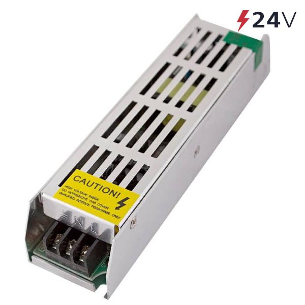 Блок питания 100 Вт 24V (IP20) узкий Eleganz