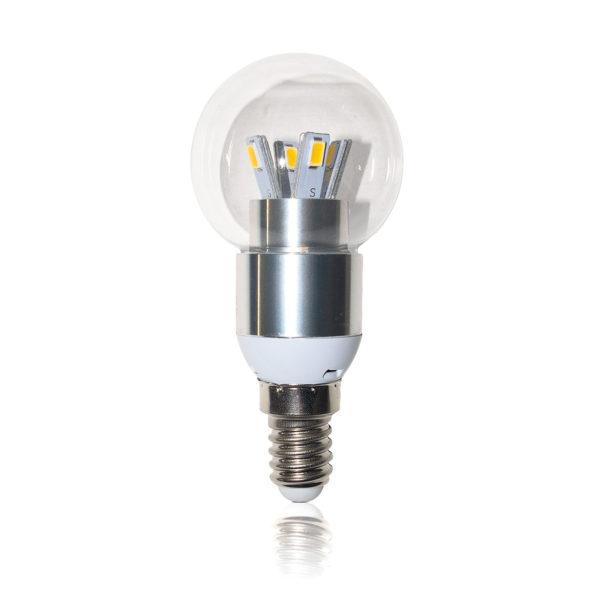Светодиодная лампа E14 - 5Вт шар Eleganz