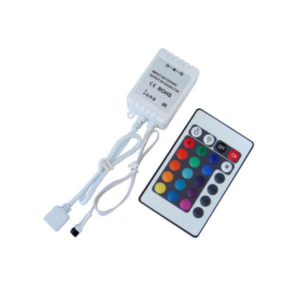Контроллер кнопочный для RGB инфракрасный