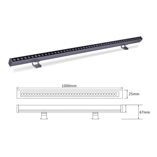 Светильник линейного света el-LS-XTD-2001