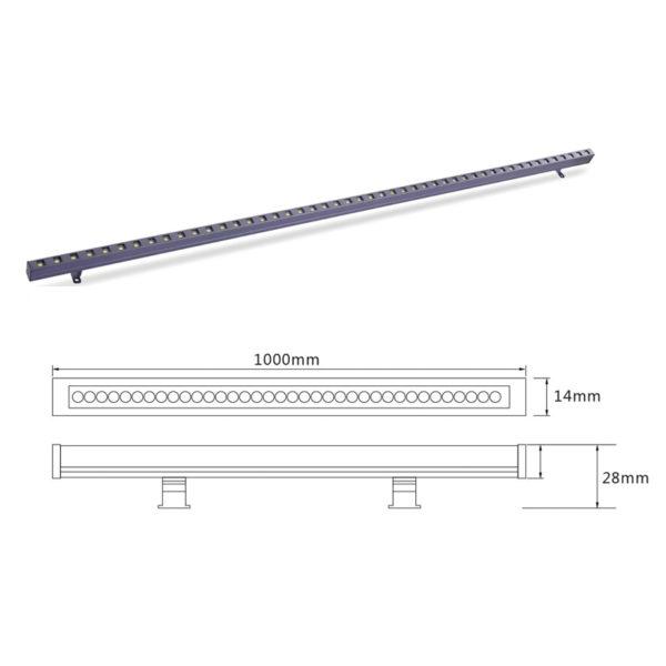 Светильник линейного света el-LS-XTD-2002