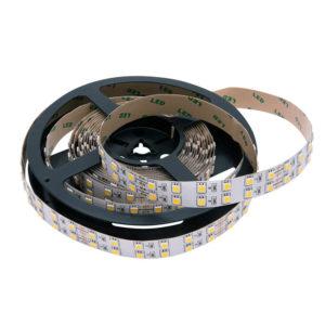 Светодиодная лента 28,8Вт двухрядная 5050 24V LUX