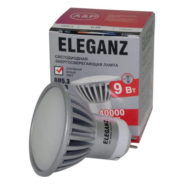 Светодиодная лампа GU5.3 9 Вт
