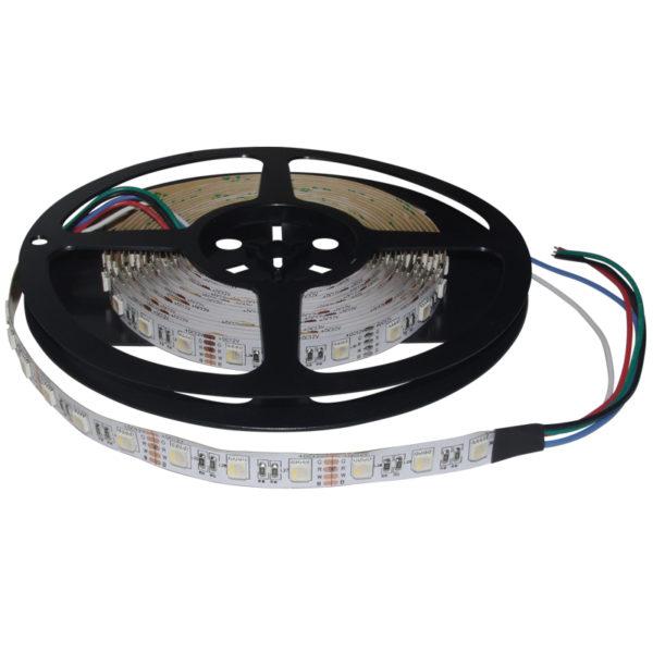 Светодиодная лента 5050 60 LED (14,4W/M) 12V RGB+Белый