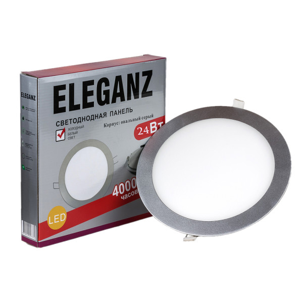 Светодиодная панель круглая 24Вт Eleganz