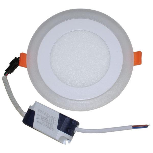 Светодиодный светильник 18 Вт с подсветкой