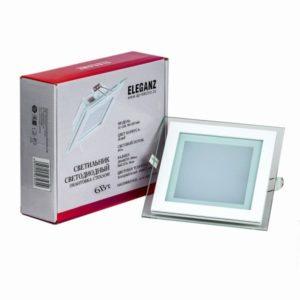 Светодиодный светильник квадратный 6Вт Eleganz