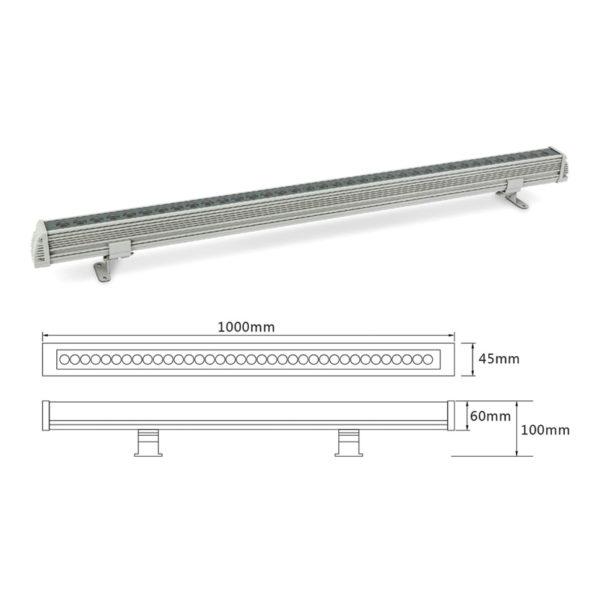Архитектурный линейный светильник el-LS-XQ-1001
