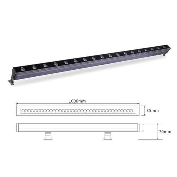 Архитектурный линейный светильник el-LS-XQ-1006